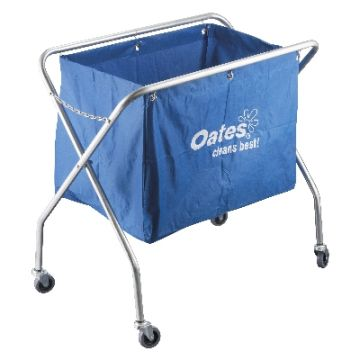 OATES SCISSOR TROLLEY-METAL WITH BAG JC-176M