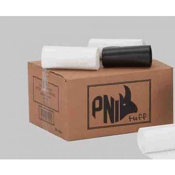 PNI 36L HDPE KITCHEN TIDY ROLL 50PCSx20ROLL BLACK