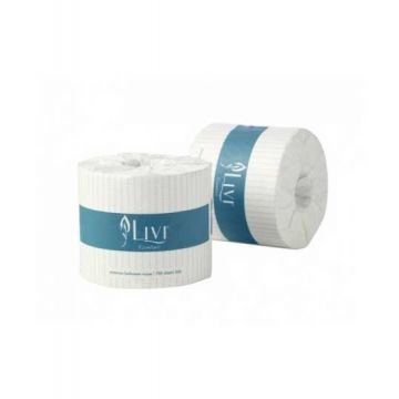 LIVI TOILET ROLL 2PLY 400SHEETS 48ROLL ESSENTIAL