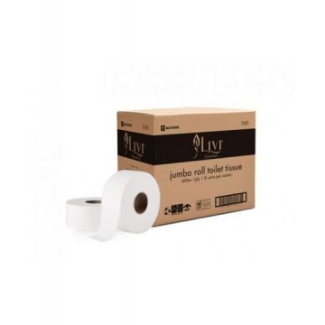 Livi Essentials bathroom jumbo Toilet Paper 1ply 600m – 1101